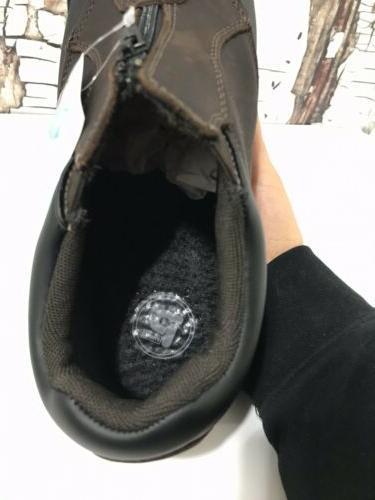 Propet Blizzard Ankle M3786 Brown/Black Men's 8 Boots