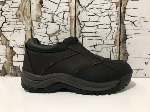 Propet M3786 Brown/Black Boots