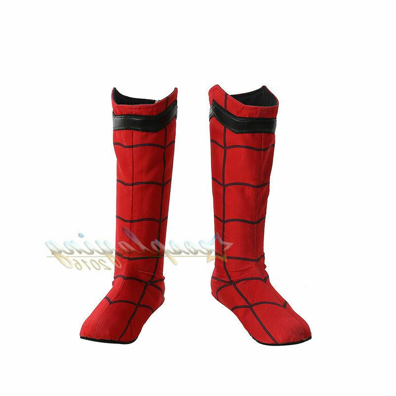 Spider-man Custom Made Sole Large Size Cos