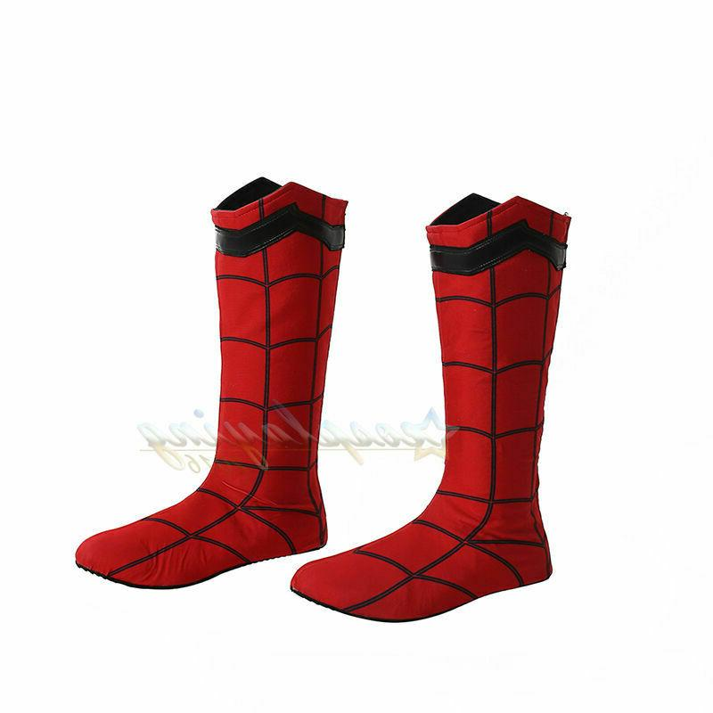 spider man homecoming cosplay boots custom made