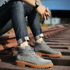 Suede Ankle Martin boots casual high top British work shoes