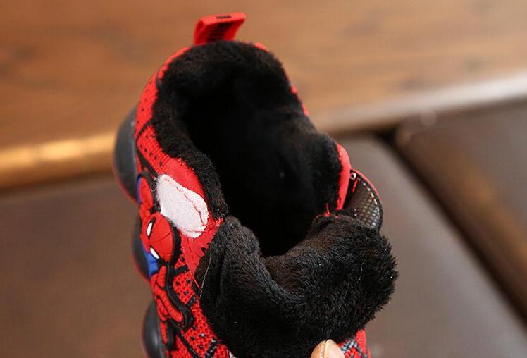 Warm Sneakers Girls Children's
