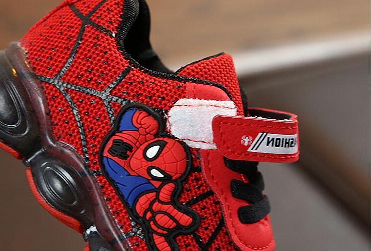 Warm Kids <font><b>Led</b></font> Sneakers Children Loop Fashion Girls Boys Spider Children's <font><b>Boots</b></font>