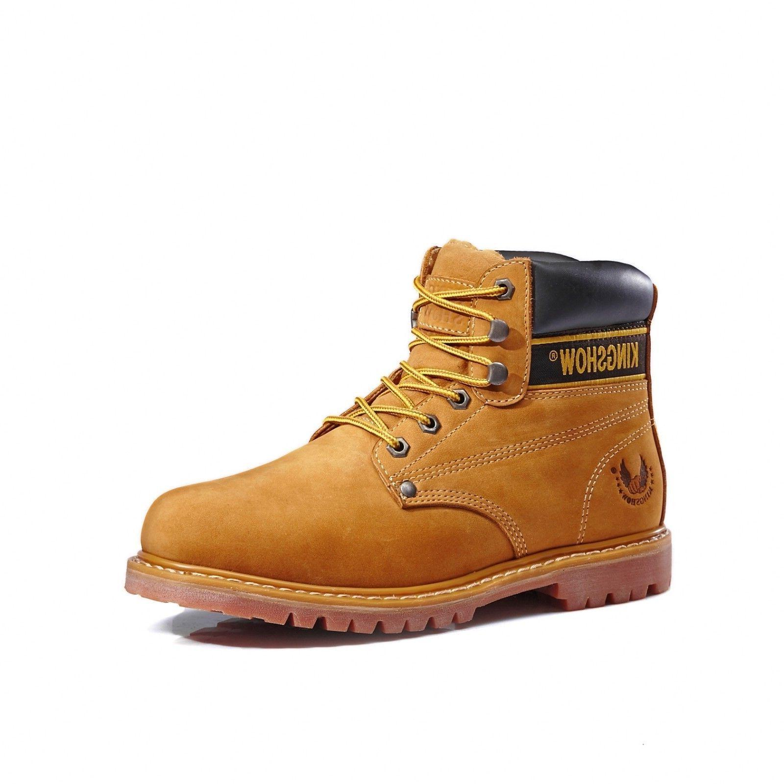 Kingshow Work Boots Genuine Leather 8036