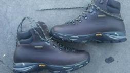 Zamberlan Leather Lite Gore Tex Chestnut Trekking Mens Women