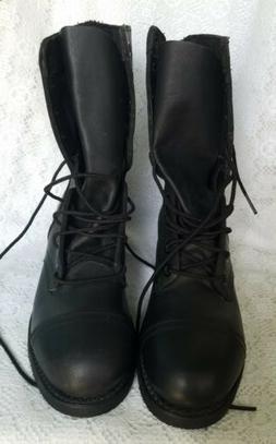 Biltrite Leather Steeltoe Combat Boots Black Size 5 Men's 7.