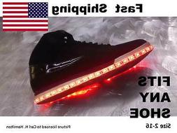 LED Shoe KIT - kit fits JUSTIN BOOTS size  5 6 7 8 9 10 11 1
