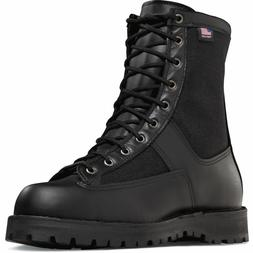 """Men's and Women's Danner Acadia 8"""" Black Uniform Duty Boots"""