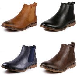 Metrocharm MC124 Men's Casual Fashion Ankle Chelsea Boots