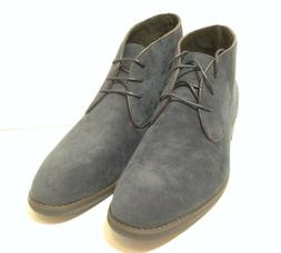 Adolfo Malcolm Men's Chukka Boots Navy Leather - Size 13
