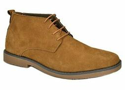 Men's Chukka Suede Leather Chukka Desert Oxford Dress Ankle