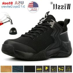Men's Climbing 6-13 Sneaker Comfortable Safety Shoes Steel T