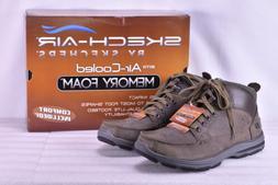 Men's Skechers Garton- Dodson Ankle Boots Charcoal Brown