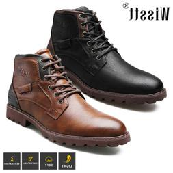 Men's Military Tactical Combat Hiking Ankle Boots Outdoor Le