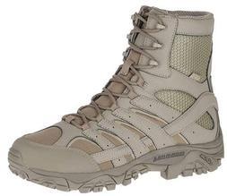 "Merrell Men's Moab 2 8"" Tactical Waterproof Boot Brindle"
