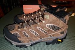 Merrell Men's Moab 2 Mid Waterproof Hiking Boot, Earth, Size