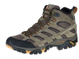 Merrell Men's Moab 2 Vent Mid Hiking Boots - Walnut