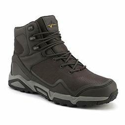 Mens Waterproof Hiking Boots Outdoor Mid Trekking Breathable