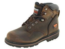 "Timberland Pro Men's Pit Boss 6"" Steel Toe Work Boot Gaucho"