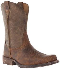 Ariat Men's Rambler Wide Square Toe Western Cowboy Boot 1000