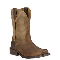 Ariat Men's Rambler Wide Square Toe Western Cowboy Boot, Ear