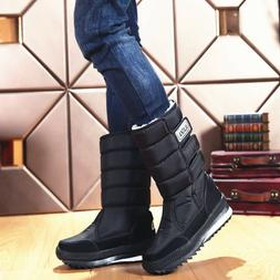 Men's Snow Boots Insulated Waterproof Rugged Heavy Duty Ther