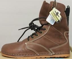 Men's Women's OTZ Boots OTZ1-Troop in Mocha Relax Leather 36