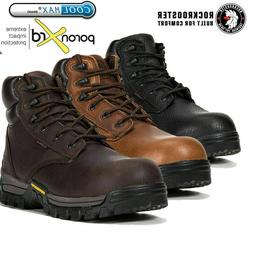 ROCKROOSTER Men's Work Boot Composite Toe Anti-puncture Wate
