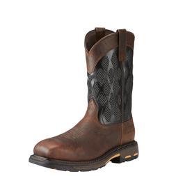 Ariat® Men's Workhog VentTek Matrix Brown & Black Work Boot