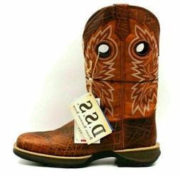 Rebel by Durango Men Western 12 Inch Boots Size US 11M Burt