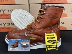 "Men's 6"" Soft Moc Toe Safety Oil Slip Resistant Waterpro"