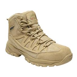Mens Ankle Waterproof Hiking Boots Outdoor Work Trekking Com