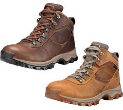 Mens Timberland Boots Mt Maddsen Brown Hiking Boots Waterpro