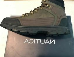 Nautica Mens Boots Size 10 New In Box Brown & Olive