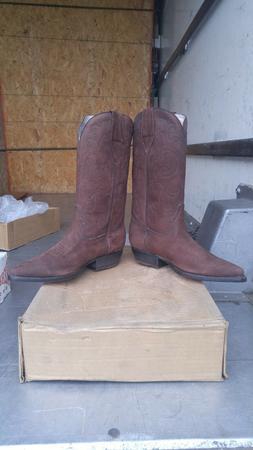 Mens Brown Tranka Boots Size 27