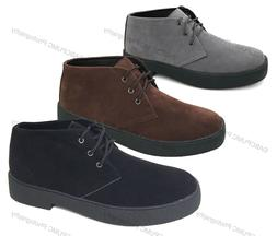 mens chukka boots casual wallace lace up