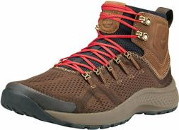Timberland Mens Boots Size 9.5 Flyroam Trail Mid Hiking Brow
