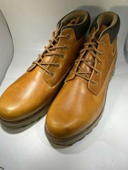 Cat Mens Founder Artisan Gold Boots Size 13 #720913