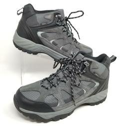 Khombu Mens Hiking Boots Outdoor Tyler Tactical Shoes Black