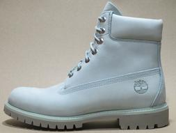 Timberland Mens Premium 6 inch Classic Leather Boots Dust Bl