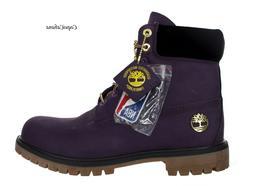 "Timberland Mens ""Premium 6 Inch Los Angeles Lakers"" Purple L"