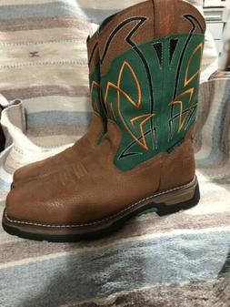 Dan Post Mens Size 9M Composite Waterpoof Boots
