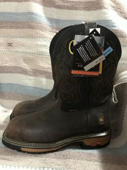 Dan Post Mens Size 9M Steel Toe Waterproof Boots