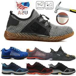 mens steel toe work safety shoe indestructible