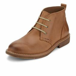 Dockers Mens Tulane Leather Lace-up Desert Chukka Boot with