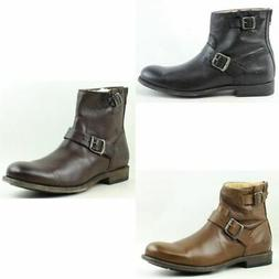 Frye Mens Tyler Engineer Ankle Boots