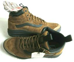 Vans Mens UltraRange Hi DI MTE Boots Dachshund Brown Suede B