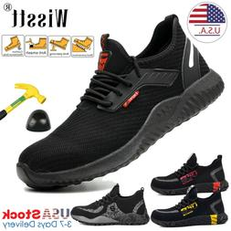 Mens Work Safety Shoes Indestructible Steel Toe Cap Boots Sn