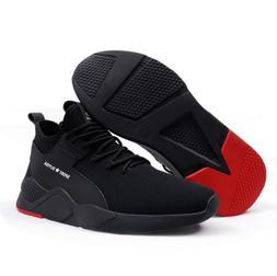 Mens Work Safety Shoes Steel Toe Cap Boots Bulletproof Indes