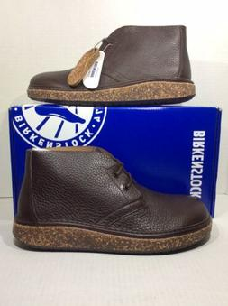 Birkenstock Milton Mens 9 / Womens 11 EU42 Espresso Leather